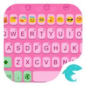 Emoji Keybaord-Pink Jelly icon