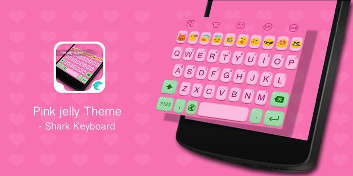 Emoji Keybaord-Pink Jelly poster