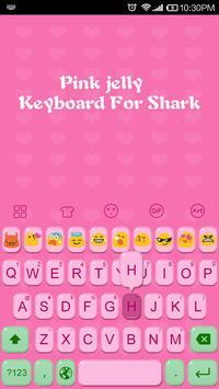 Emoji Keybaord-Pink Jelly apk screenshot
