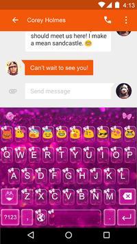 Emoji Keyboard-Pretty Bows apk screenshot