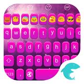 Emoji Keyboard-Purple Feelings icon