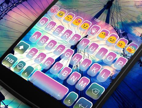 Rainbow Wheel Emoji Keyboard screenshot 4