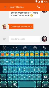 Emoji Keyboard-Science Fiction apk screenshot