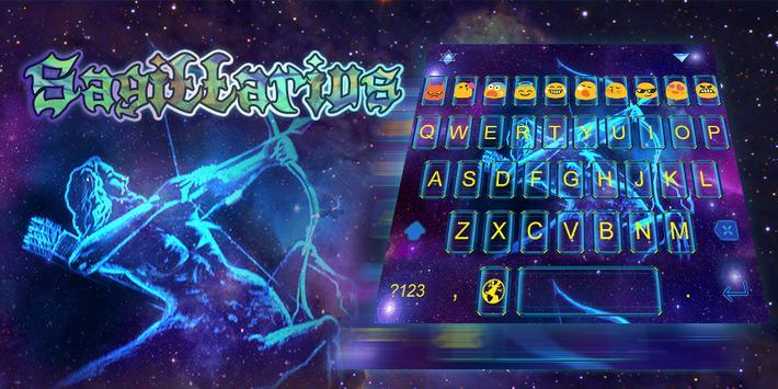 Emoji Keyboard-Sagittarius poster