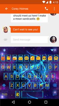 Emoji Keyboard-Sagittarius apk screenshot