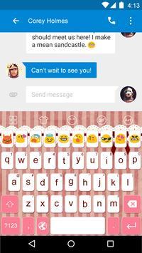 Emoji Keyboard-Small Cute apk screenshot