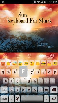 Emoji Keyboard-Sun screenshot 2