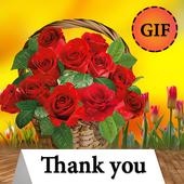 Thank you gif icon