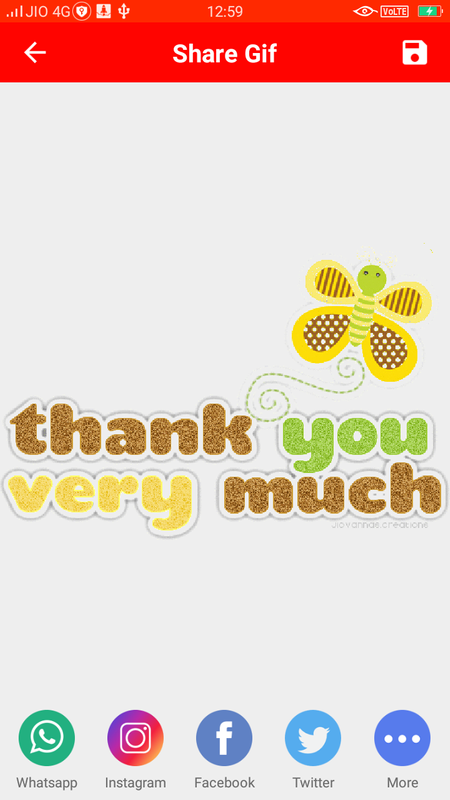 Thank you gif for Android - APK Download
