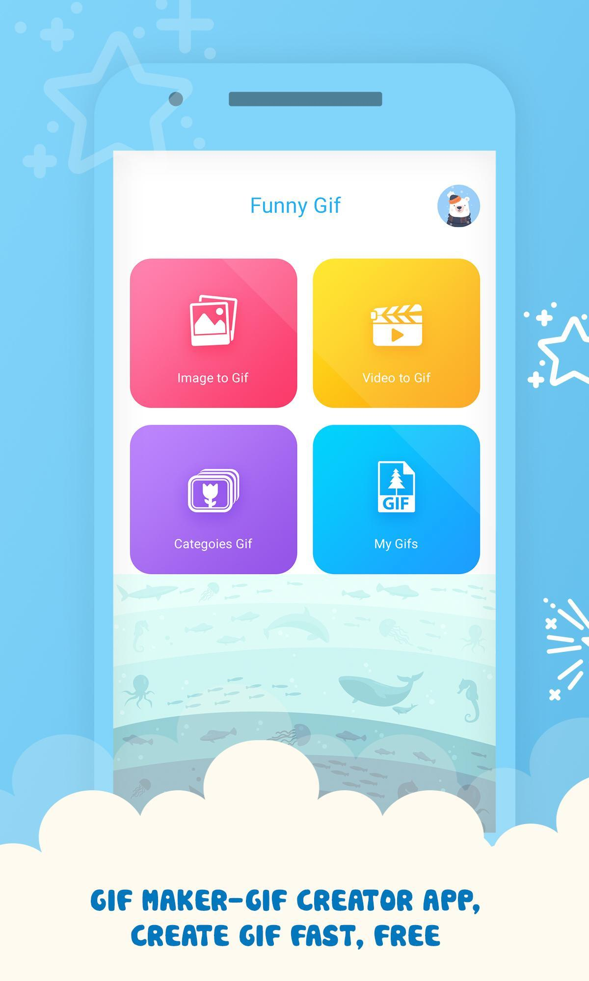Gif Maker - Gif Creator app for Android - APK Download
