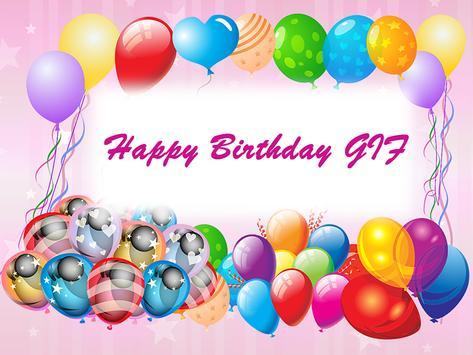 Happy Birthday GIF Video Maker Screenshot