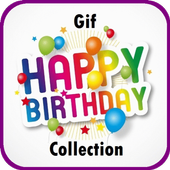 New Gif Birthday Collection icon