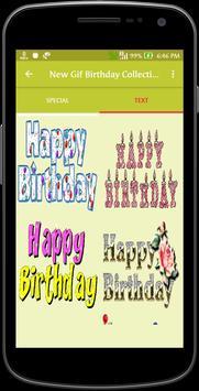 New Gif Birthday Collection screenshot 2