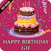 Birthday Gif Collection & Search Engine icon