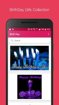 Birthday Gif Collection & Search Engine poster
