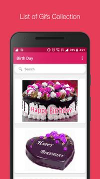 Birthday Gif Collection & Search Engine screenshot 2
