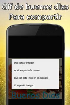 Gif de Buenos Dias screenshot 3