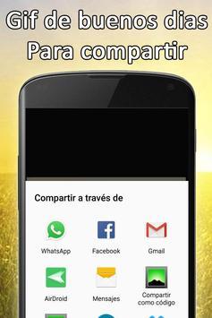 Gif de Buenos Dias screenshot 4