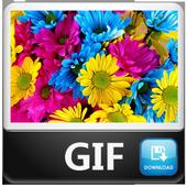 Gif de Flores icon