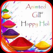 Gif Happy Holi 2017 icon