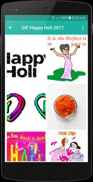 Gif Happy Holi 2017 apk screenshot
