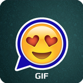 Gif Stickers for WhatsApp icon