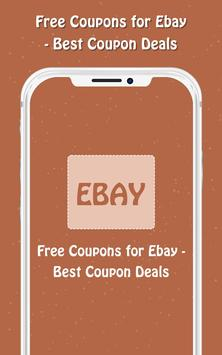 Free Coupons for Ebay poster
