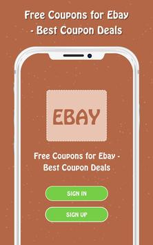 Free Coupons for Ebay screenshot 1