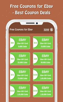 Free Coupons for Ebay screenshot 3