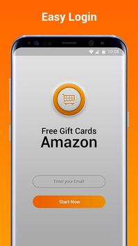 Free Gift Cards for Amazon Store - Get Promo Codes apk screenshot