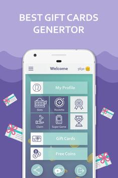 Free Gift Cards Generator poster