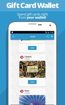 SaveYa - Buy & Sell Gift Cards apk screenshot