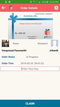 GiftOffs Vendor apk screenshot