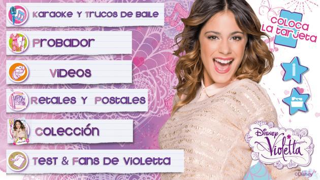 Violetta Digital Card - España poster