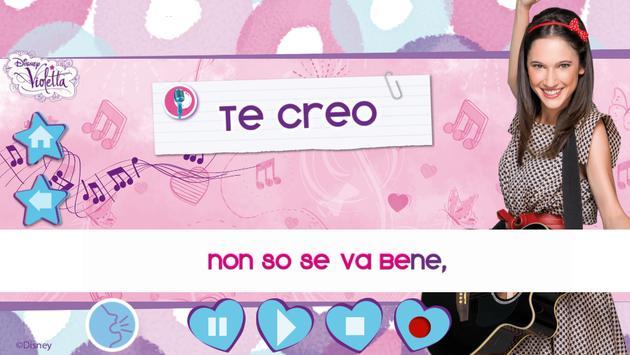 Violetta Digital Card - España screenshot 1