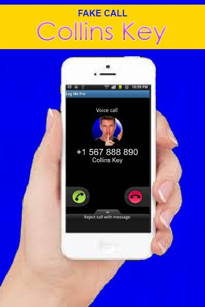 Fake Call From Collins Key For Android Apk Download