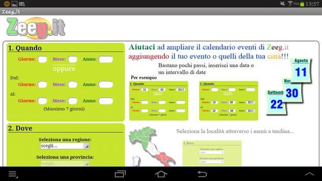 Zeeg.it - Eventi Finder apk screenshot