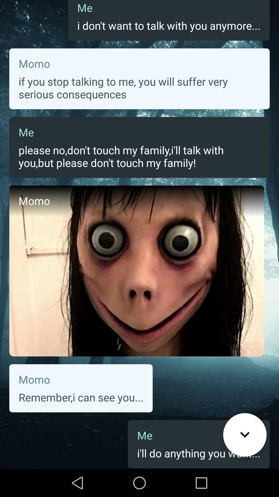 MOMO HORROR CHAT for Android - APK Download