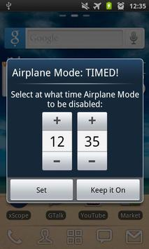 Airplane Mode: TIMED! FREE poster