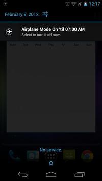 Airplane Mode: TIMED! FREE apk screenshot