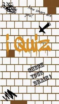 iQuiz (multiplayer trivia) poster