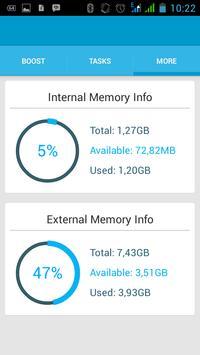 Fast RAM Booster apk screenshot