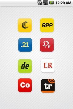 Diarios de Perú apk screenshot