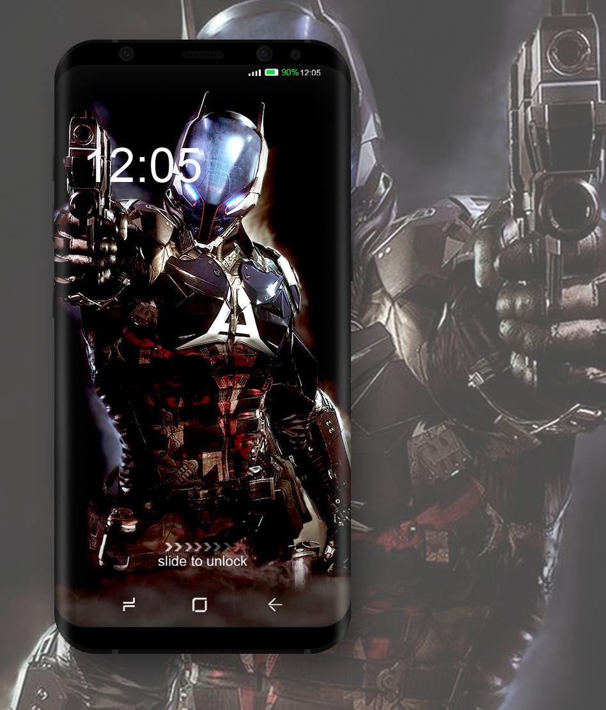 Bat Arkham Wallpaper poster