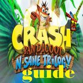 Guide tips for  Crash Bandicoot N. Sane Trilogy icon