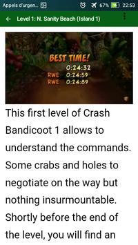 Guide tips for  Crash Bandicoot N. Sane Trilogy screenshot 5