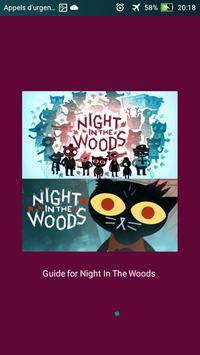 guide For Night In The Woods poster