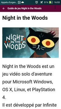 guide pour Night In The Woods screenshot 2
