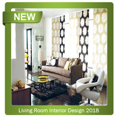 Living Room Interior Design 2018 icon