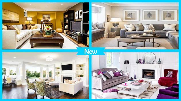 Living Room Interior Design 2018 poster